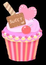 虫歯危険度★★★☆☆ のおやつ ケーキのイメージ