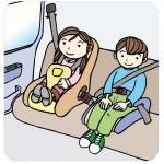 チャイルドシート助手席設置は法律違反?子供は大丈夫?