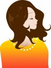 美容院で綺麗になる女性のイメージ