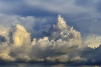 ダウンバーストが発生しそうな積乱雲