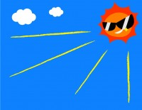 真夏の日射熱から車内温度の上昇を抑えるには、断熱フィルムが効果的!