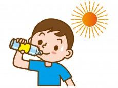 熱中症対策には、適度な水分・塩分を摂るのが大切!