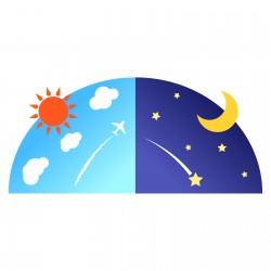 秋分の日は昼と夜の長さがほぼ同じ