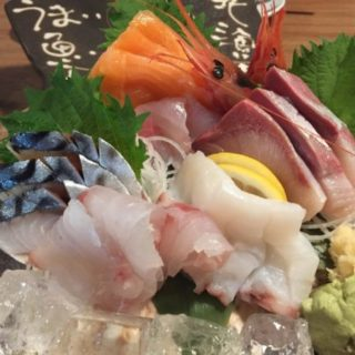 恵方巻きの海鮮の具材の写真